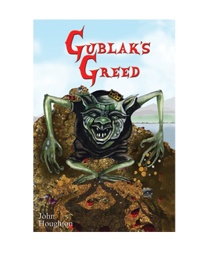 Gublak's Greed - Paperback storybook